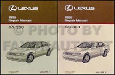 NEW 1995 Lexus GS 300 Repair Manual Set Original OEM GS300 Shop Service Books 95