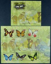 Grenada 2005 Schmetterlinge Butterflies Papillon 5545-5550 + Bl.733 MNH
