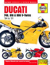 Haynes Ducati 748 916 SP 996 Biposto 94-01 Workshop manual 3756