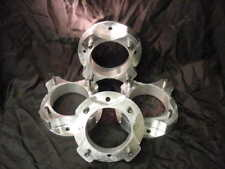 POLARIS RZR & RANGER BILLET WHEEL SPACERS 2 INCH 3/8-24 MADE IN USA BY DUNEGEAR