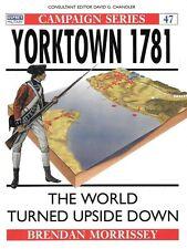 Osprey Campaign Yorktown 1781 George Washington Continental Army Militia French