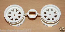 Tamiya Striker/Sonic Fighter/Grasshopper II/2, 0445095/10445095 Rear Wheels NEW