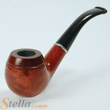 Wooden Fancy Dress Pipe Sherlock Holmes Detective Old Man Costume Accessory