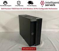 Dell Precision T5820 Xeon W-2145 Windows 10 Pro Configurable Workstation