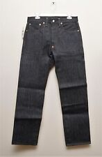 NEW Ralph Lauren RRL DOUBLE RL Selvedge Denim Buckleback Rigid Raw Jeans 32