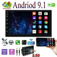 "7"" GPS Navi Android 9.1 2DIN Autoradio stereo WIFI Bluetooth Link specchio"