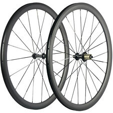 Race Bike Carbon Wheels Aero Spokes Clincher 38mm Carbon Wheelset Bicycle Wheel