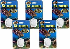 ZOO MED DR TURTLE 5 PACK CALCIUM SLOW RELEASE BLOCK SUPPLEMENT FREE SHIP THE USA