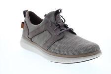 Clarks Un Глобус кружева 26140183 мужской серый кожаный повседневные кроссовки, обувь