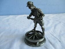 Franklin Mint The Master Craftsmen of the Renaissance Guilds  - The Wheelwright