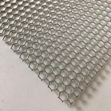Lochblech Alu Streckgitter  Hexagonal 1,5mm HV6-6,7 300 mm x 300 mm Neu Gitter