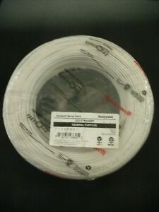 22/2 22 Guage AWG 2 Conductor Stranded Unshielded Cable White Honeywell