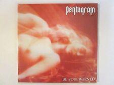PENTAGRAM BE FOREWARNED LP 2013 (2) LP IMPORT DOOM METAL BOBBY LIEBLING