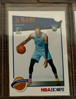 2019-20 JA MORANT PANINI NBA HOOPS TRIBUTE ROOKIE CARD RC #297 FIRST OFFICIAL RC