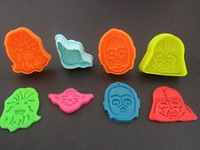 STAR WARS Fondant Sugarcraft COOKIE CUTTERS Set of 4