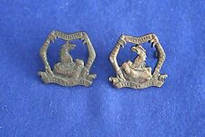 8th Battalion Ballarat Regiment collar badges