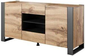 Dresser buffet nunki 164 cm oak wotan anthracite