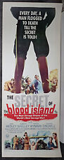 THE SECRET OF BLOOD ISLAND orig ROLLED 1965 HAMMER movie poster BARBARA SHELLEY