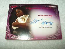 Tna wrestling autograph carte k.o. signature courbes awesome kong KA2