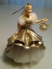 2000 Celebration Gold Barbie Collector Hallmark Keepsake Ornament