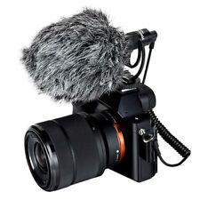 Yongnuo YN220 S Microphone Mic 3.5mm windshield For Sony A6600 A6500 A7R II III