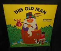 VINTAGE 1974 THIS OLD MAN CHILD'S PLAY PAM ADAMS KIDS STORY PAPERBACK BOOK