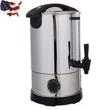6 Quart Stainless Steel Electric Water Boiler Warmer Hot Water Kettle Dispenser