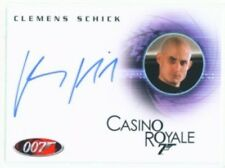 "CLEMENS SCHICK ""AUTOGRAPH CARD #A103"" JAMES BOND IN MOTION"