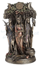 Celtic Triple Goddess Maiden Mother And The Crone Sculpture Wicca Paganism