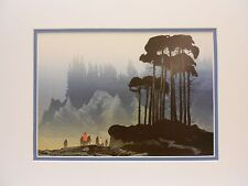Elton Bennett Reproduction Print-The Distant Shore