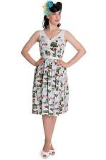 Hell Bunny Plus Size Short Sleeve Casual Women's Dresses
