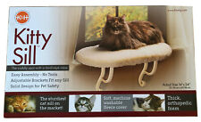K&H PET PRODUCTS LARGE KITTY SILL CAT SHELF PERCH-24 x 14-MSRP $49-NEW IN BOX
