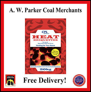 Heat Economy non-approved Smokeless fuel coal 300kg 15x20kg bags
