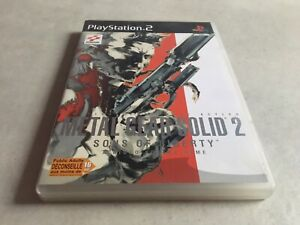 METAL GEAR SOLID 2 SONS OF LIBERTY PLAYSTATION 2 PS2 EDITION FR PAL COMPLET
