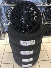 """GENUINE 18"""" CALIBRE T SPORT ALLOY WHEELS TO FIT FORD TRANSIT CUSTOM MSPORT TYRES"""