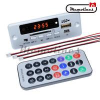 5V LCD MP3 Wireless Decoder Board USB TF SD Audio FM Radio Kit Module