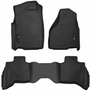Husky 53628 X-Act Contour Floor Mats Liner for DODGE RAM 1500 2500 3500 Quad Cab