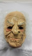 Old lady / grandam Halloween Latex Mask Adult Costume Fancy Dress Party