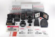 **Almost Unused** MAMIYA RB67 Pro SD K/L 90mm F/3.5 L w/Many Other From JPN