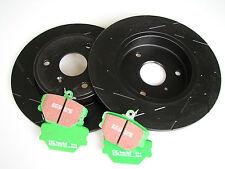 EBC BLACK Dash Sport DISCHI FRENO + Greenstuff Pastiglie dei freni smart fortwo 450 452