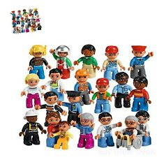 Lego Education 6100409 Lego Set, Duplo Figures Community People Toy Set - New