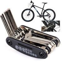 Faltbar 16 In 1 Fahrradreparatur Multifunktionswerkzeug Bicycle Repair Tool Set