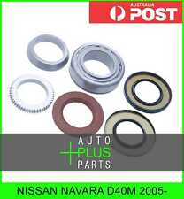 Fits NISSAN NAVARA D40M 2005- - Bearing and Seal Repair Kit For Rear Wheel Axle