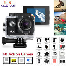 Ultra 4k Full HD 1080p Camera Waterproof Camcorder DVR Sports WiFi Cam DV Action