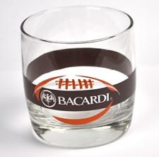 Bacardi Rum USA American Football Motiv Glas Cocktail 8 fl. oz. Glass