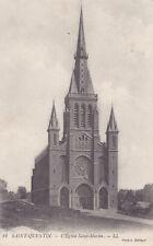 AK Saint Quentin 1914, L´Eglise Saint-Martin , Feldpost