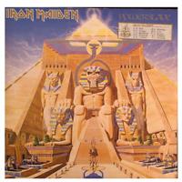Iron Maiden – Powerslave 1C 064 24 0200 1 Vinyl LP 1984