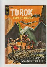 Turok Son of Stone  #52  F+  1966  Gold Key comic