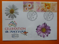 2003 ALPHA CELEBRATION & NATION 'DAISY' ILLSUTRATED FDC 2 STAMPS