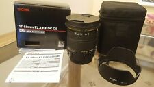 Sigma 15-50mm F2.8 EX DC OS Lens Boxed  for Canon